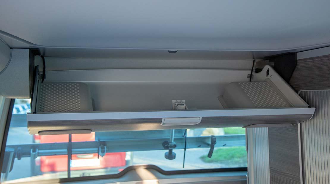 VW T6 California Ocean hire interior Surfersuite