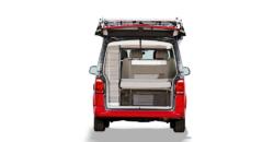 VW T6 California Ocean hire surfer suite open rear