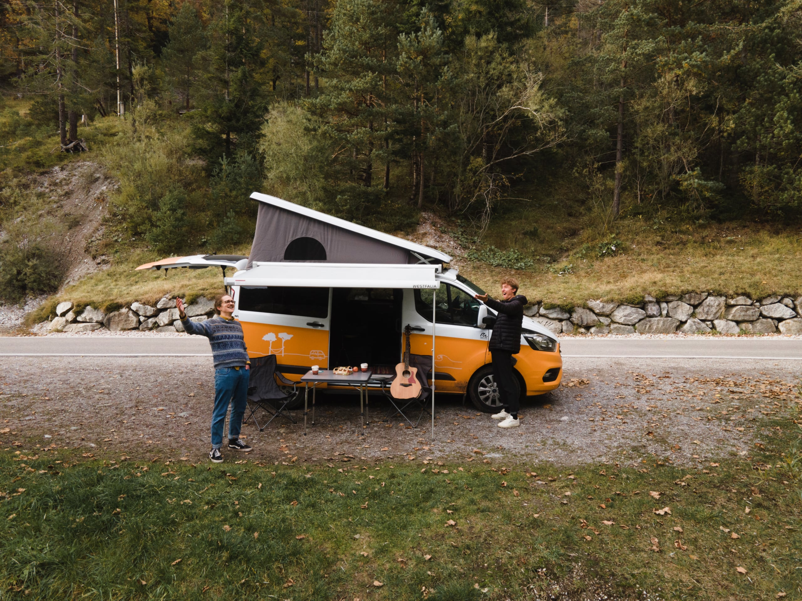 Campen in Österreich mit roadsurfer