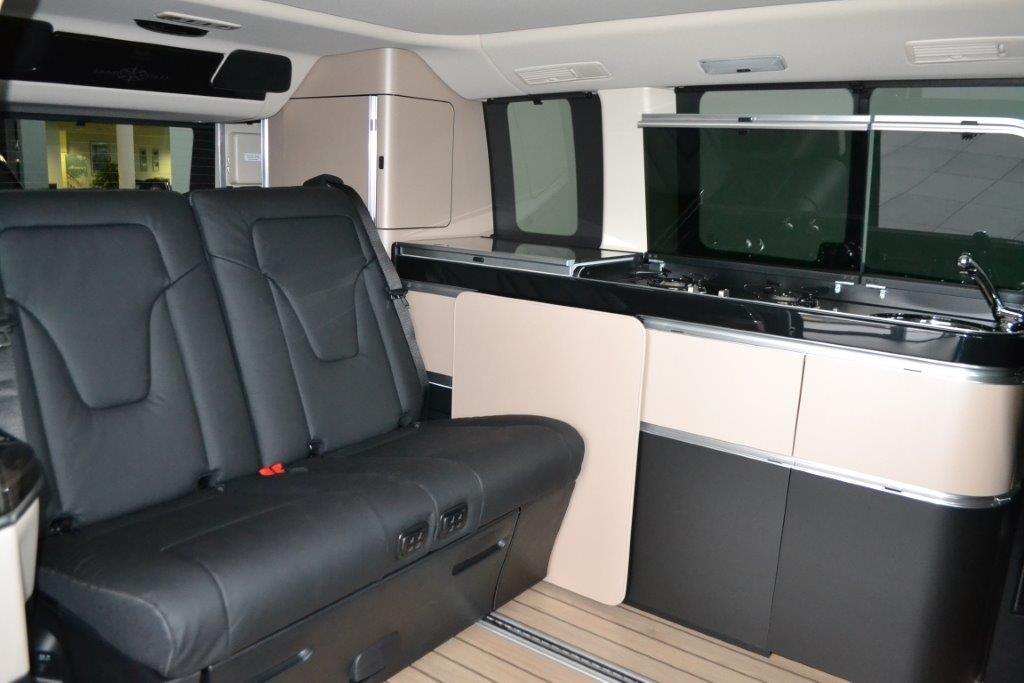 Alquilar Mercedes Marco Polo Interior