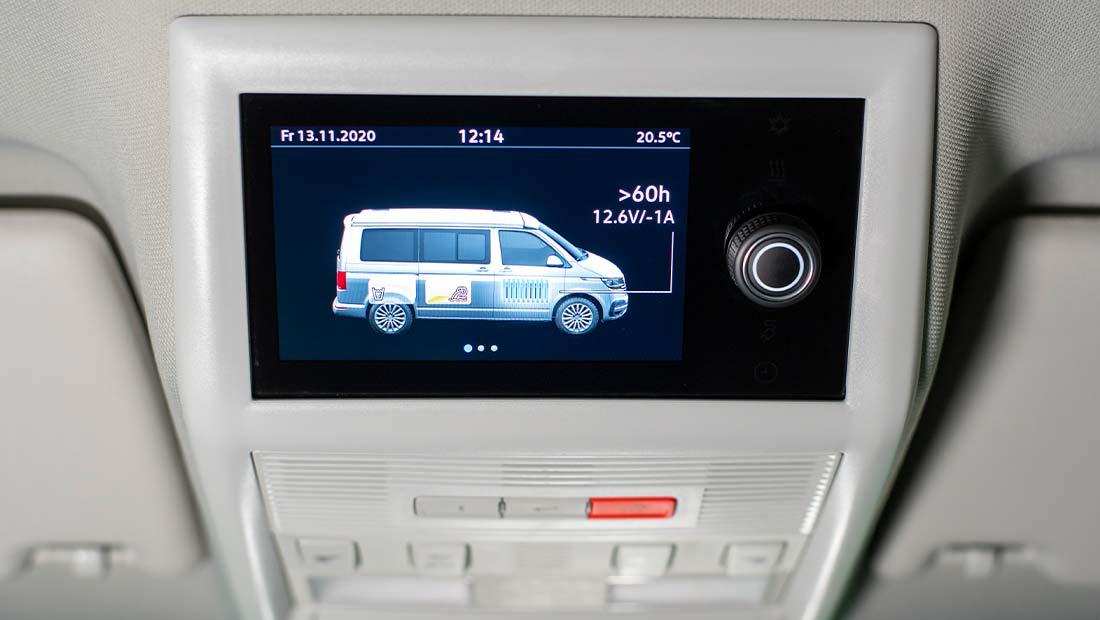 Alquilar VW California Ocean T6.1 Ordenador de a bordo