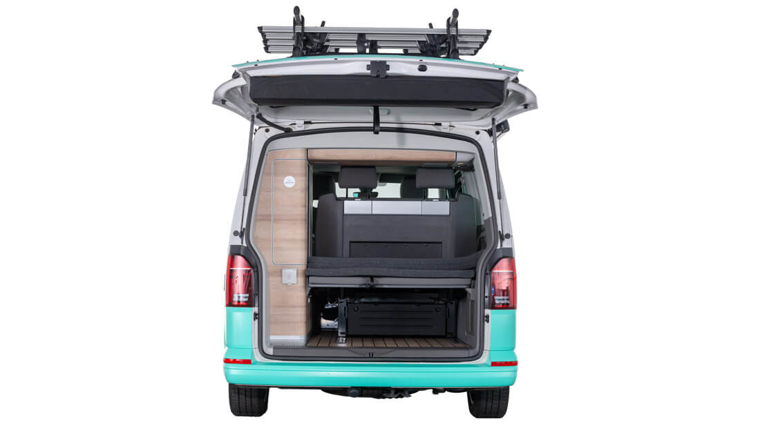 Alquilar VW California Ocean T6 1 Trasero