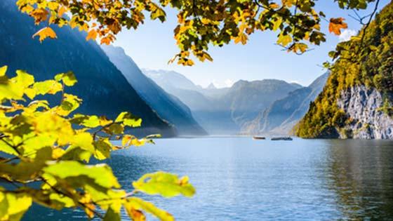 best road trips through Germany lake