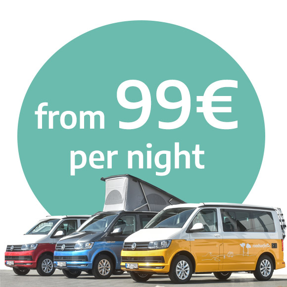 Campervan prices