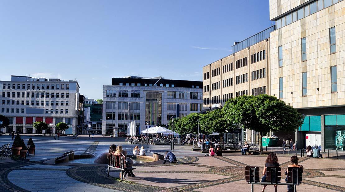 Camper rental Essen city