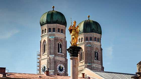 camper rental munich Frauenkirche