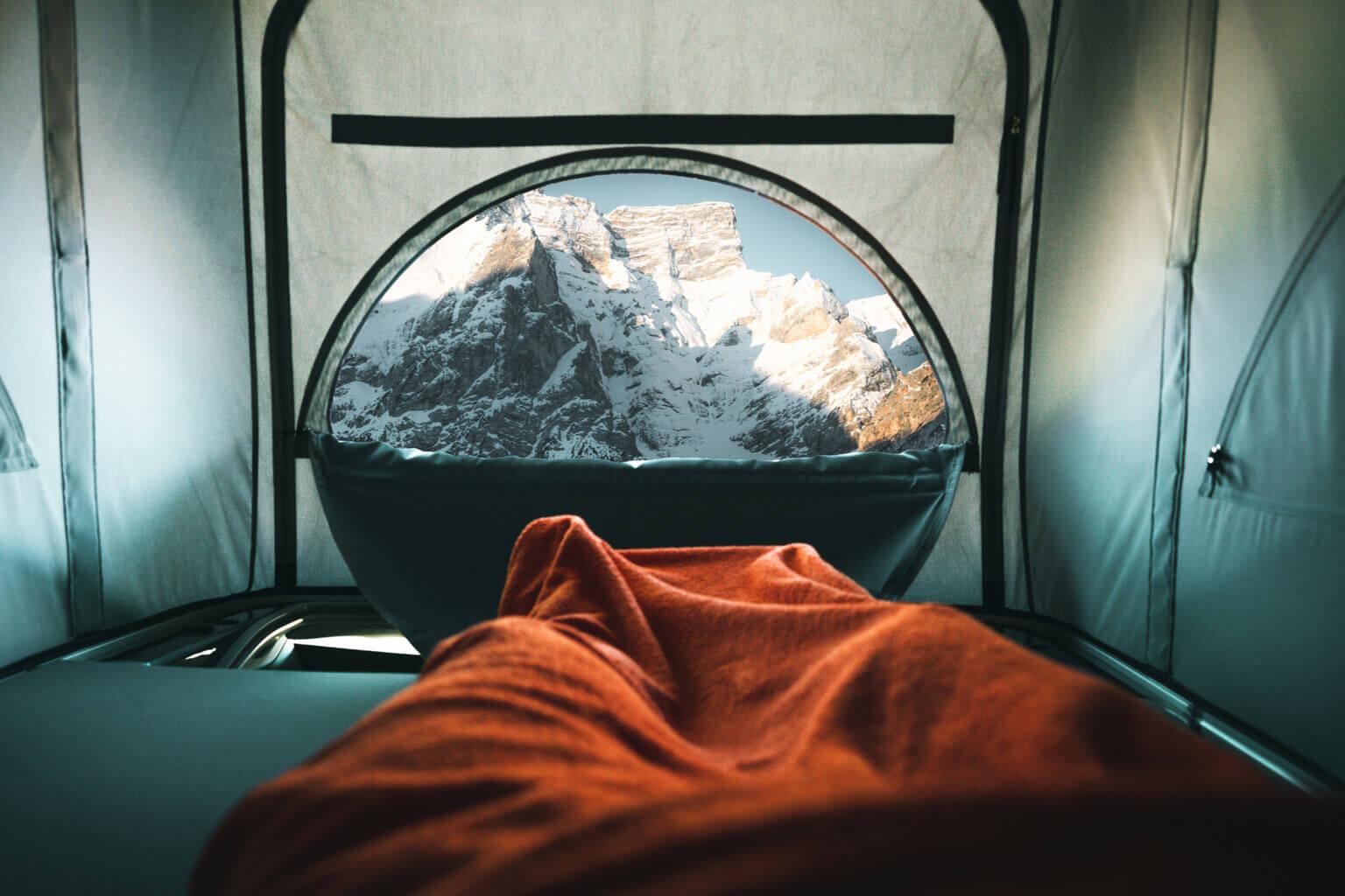 Aussicht auf die Berge