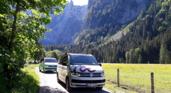 Faire du camping dans les Alpes en van aménagé