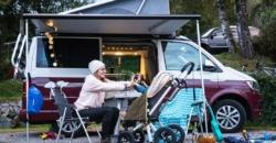 Faire du camping avec bébé - Van aménage´