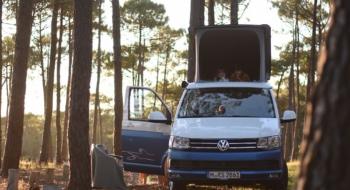 Camping familial en van aménagé