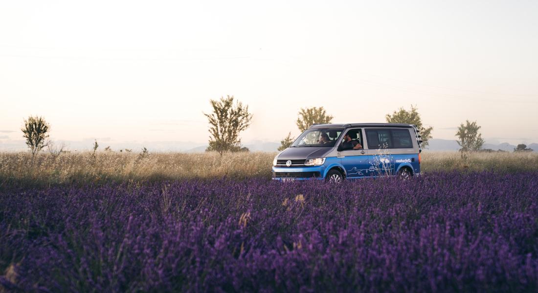 Faire du camping en France : la région PACA