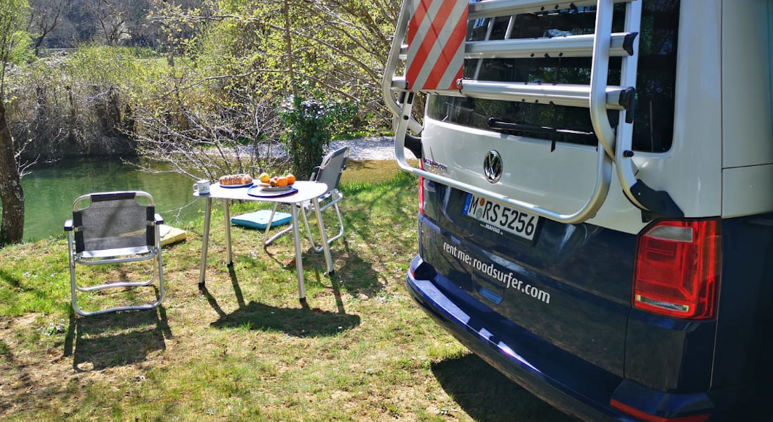 Camping in Frankreich