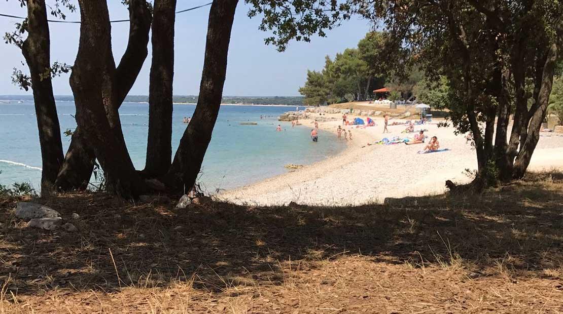 camping in istria beach