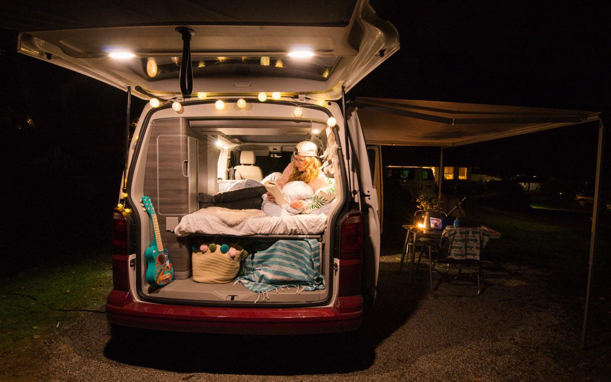 roadsurfer campervan