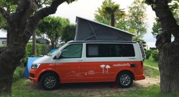camping trip campervan roadsurfer