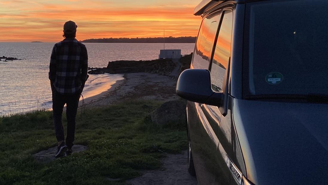 Cote D'zur Sunset