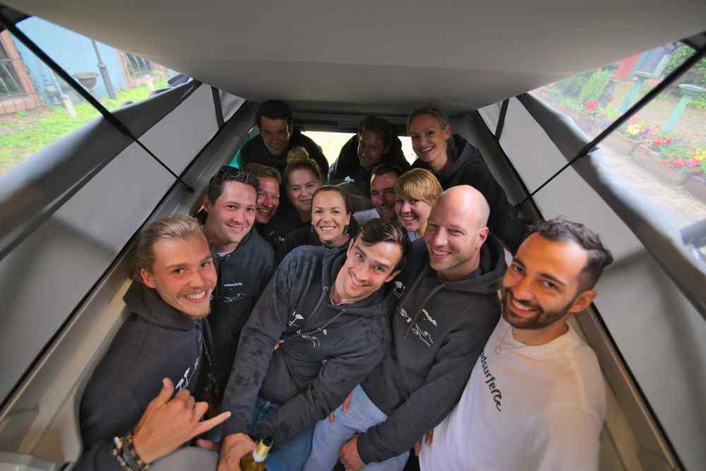 Equipo de empleados de roadsurfer