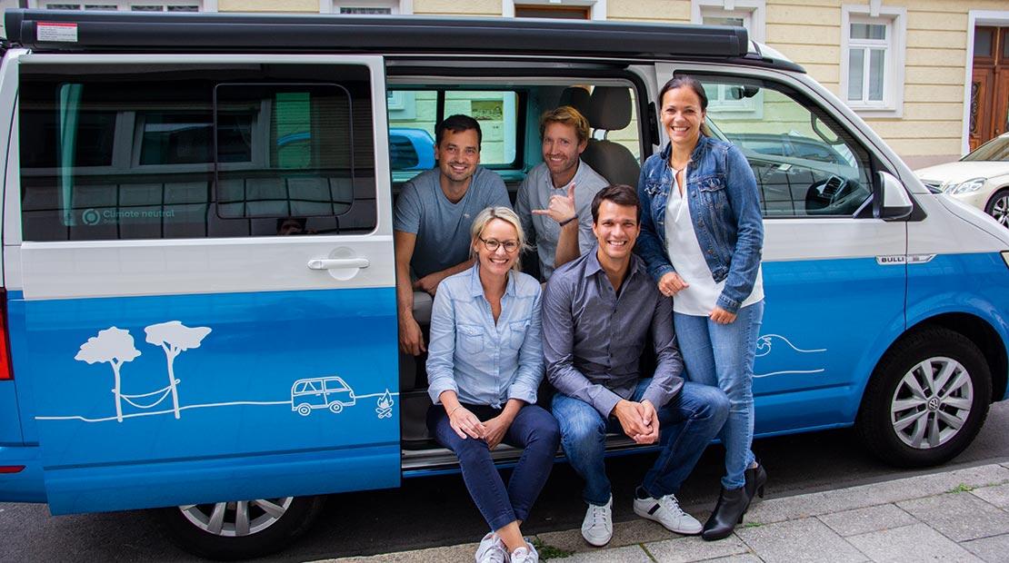Equipo de fundadores de roadsurfer