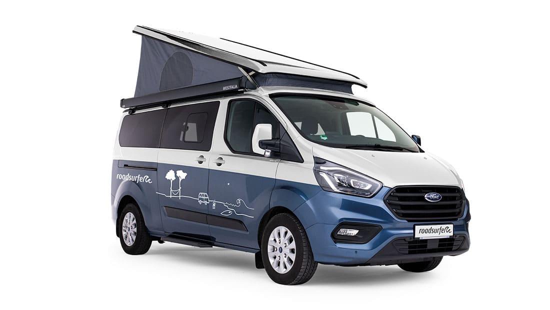 Ford Transit Nugget Plus Premium Side View