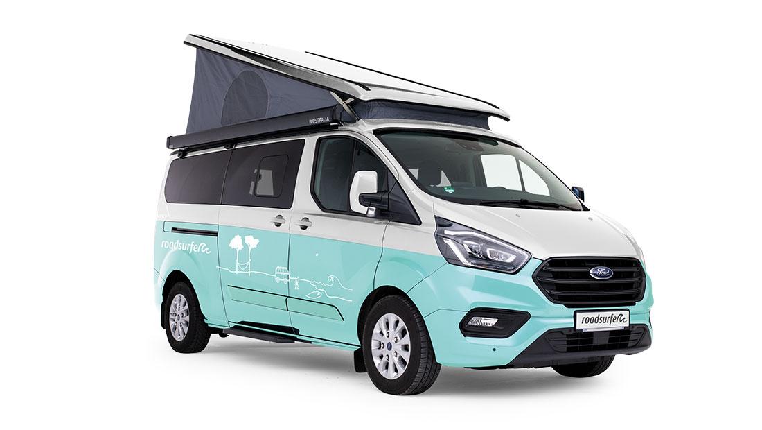 Ford Transit Nugget Plus Premium Solar Side View