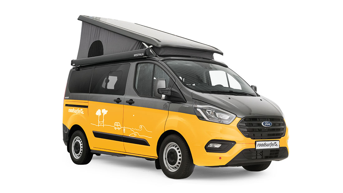 Ford Transit Nugget Premium Solar Side View