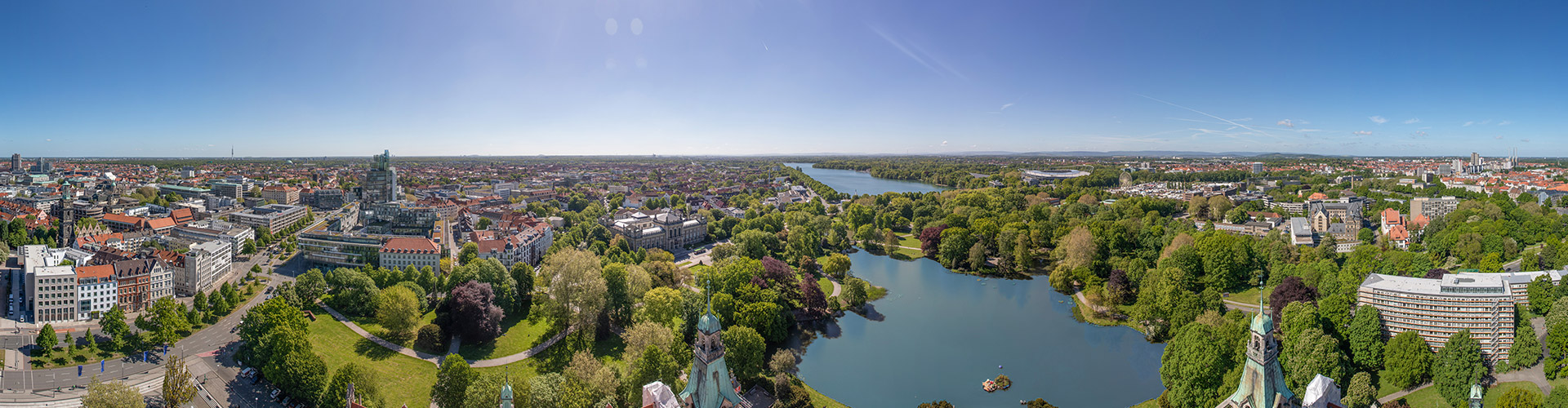 panorama of hanover