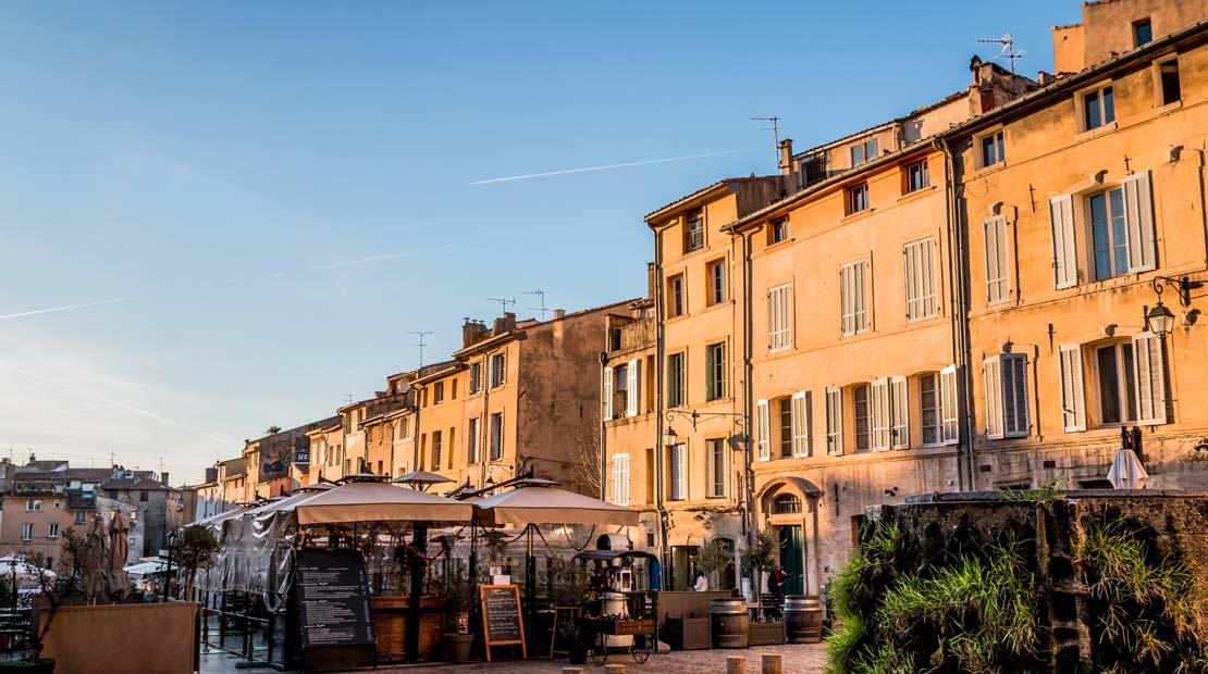 Location d'un campervan à Aix-Marseille : visite d'Aix-en-Provence