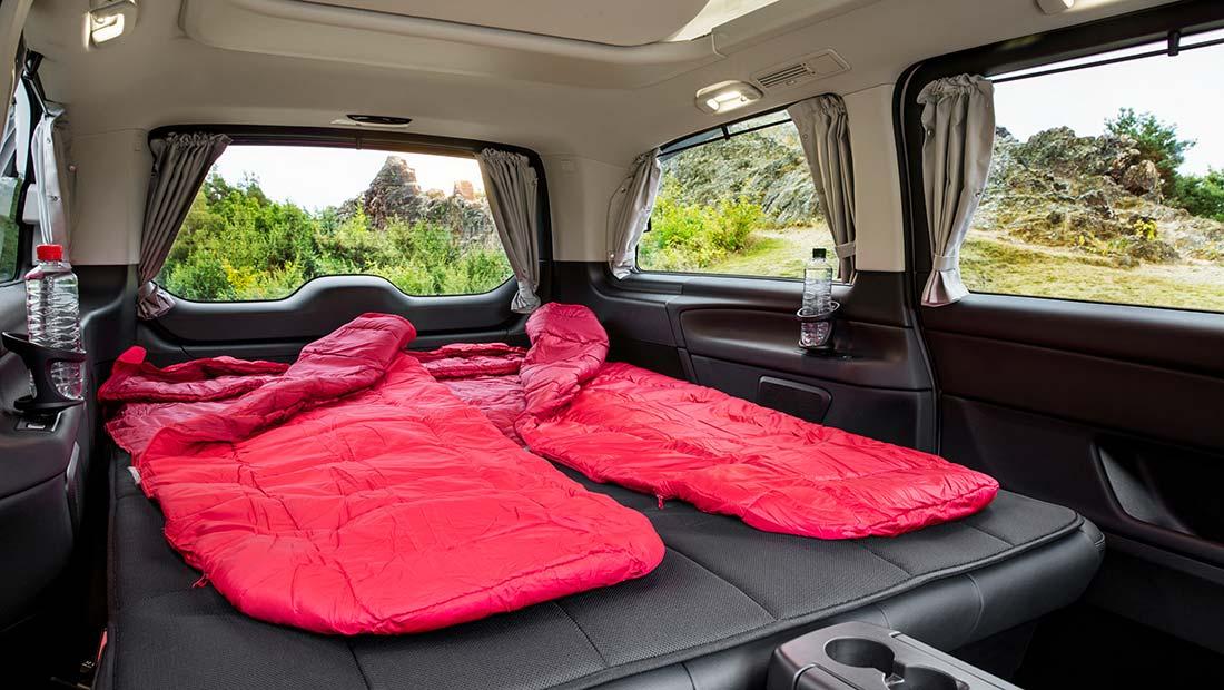 Dormir dans un Mercedes Marco Polo Horizon