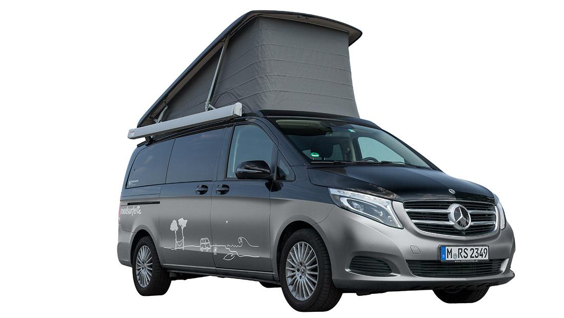 Location d'un Mercedes Marco Polo Horizon - roadsurfer
