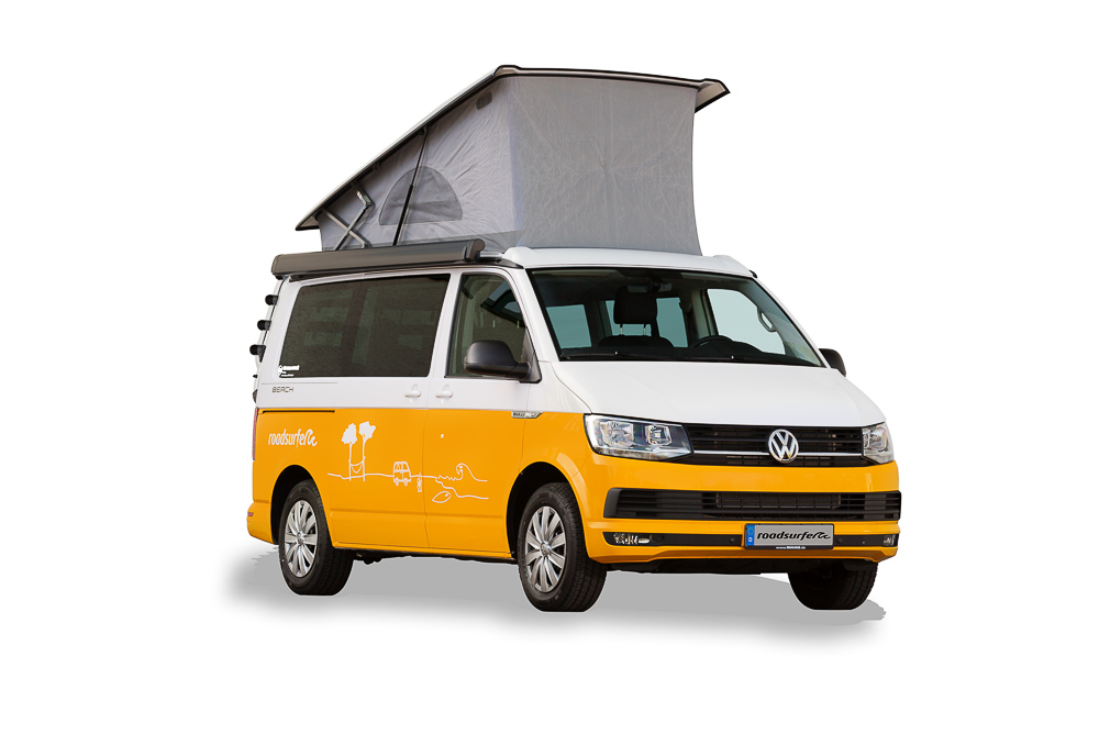 location volkswagen california beach ocean