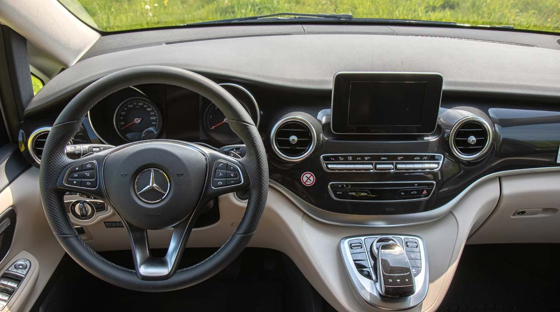 Mercedes Marco Polo cockpit