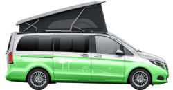 mercedes marco polo hire exterior sideview