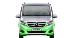 mercedes marco polo hire exterior view front