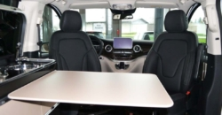 mercedes marco polo hire interior view table kitchen
