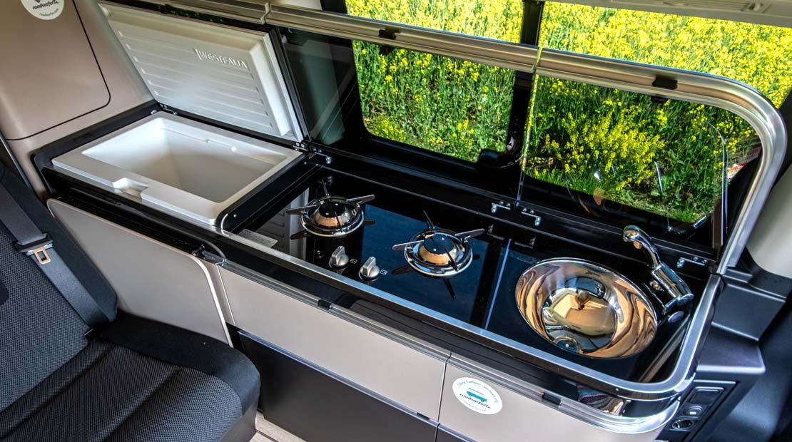 Mercedes Marco Polo kitchenette