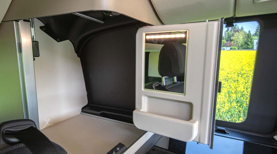 Mercedes Marco Polo mirror