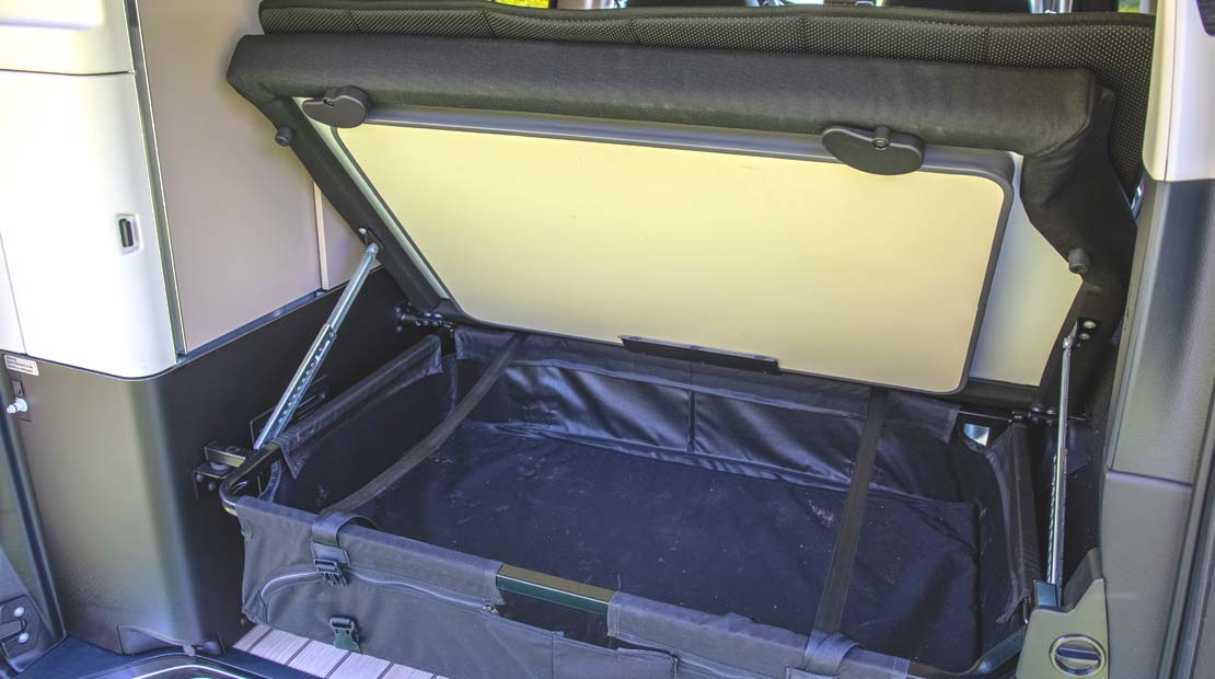 Mercedes Marco Polo storage
