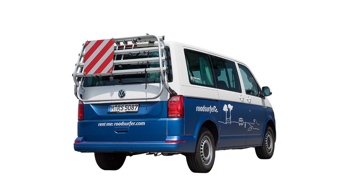 Rent VW Transporter as a Camper