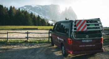Road trip dans les Dolomites - Van aménagé roadsurfer