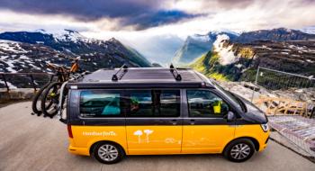 Road trip en Norvège - Montagnes, VW California et VTT
