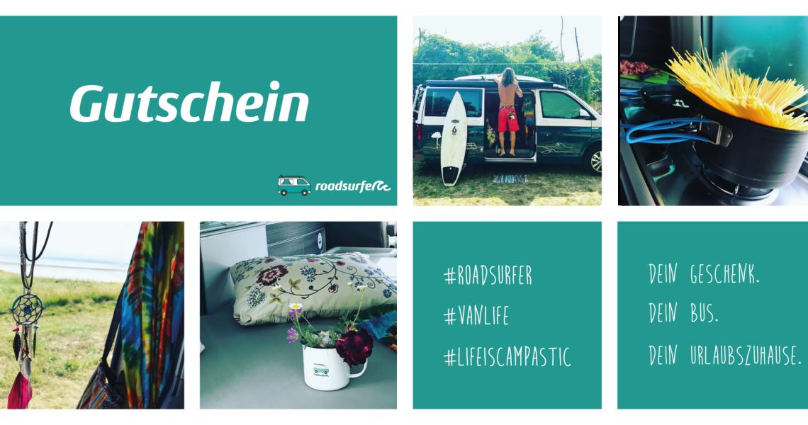 roadsurfer Camper Gutschein