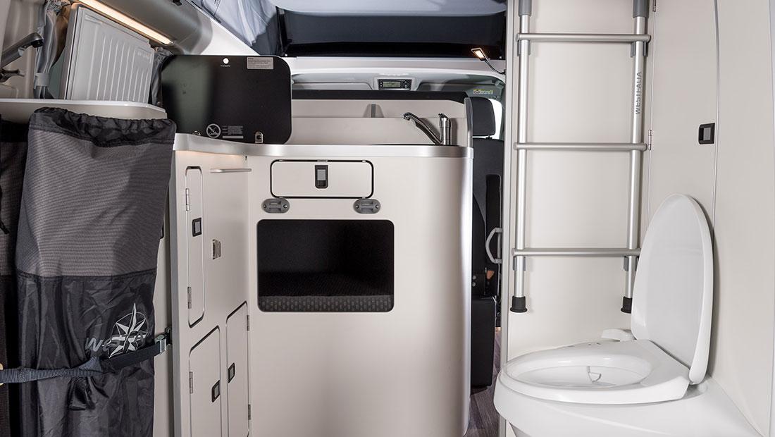 Camper Cabin Deluxe Heckbereich