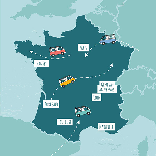roadsurfer locations france