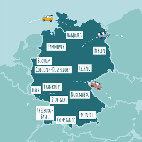 roadsurfer locations germany