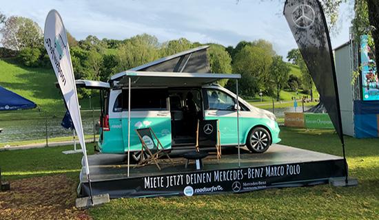 roadsurfer Travel Home at Munich Open Air Cinema
