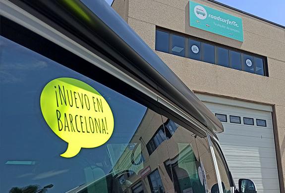 roadsurfer Station Barcelona