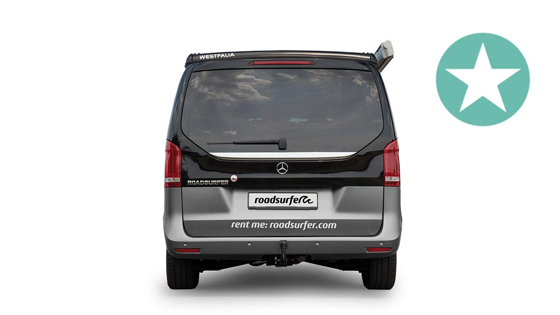 roadsurfer travel home deluxe rear view