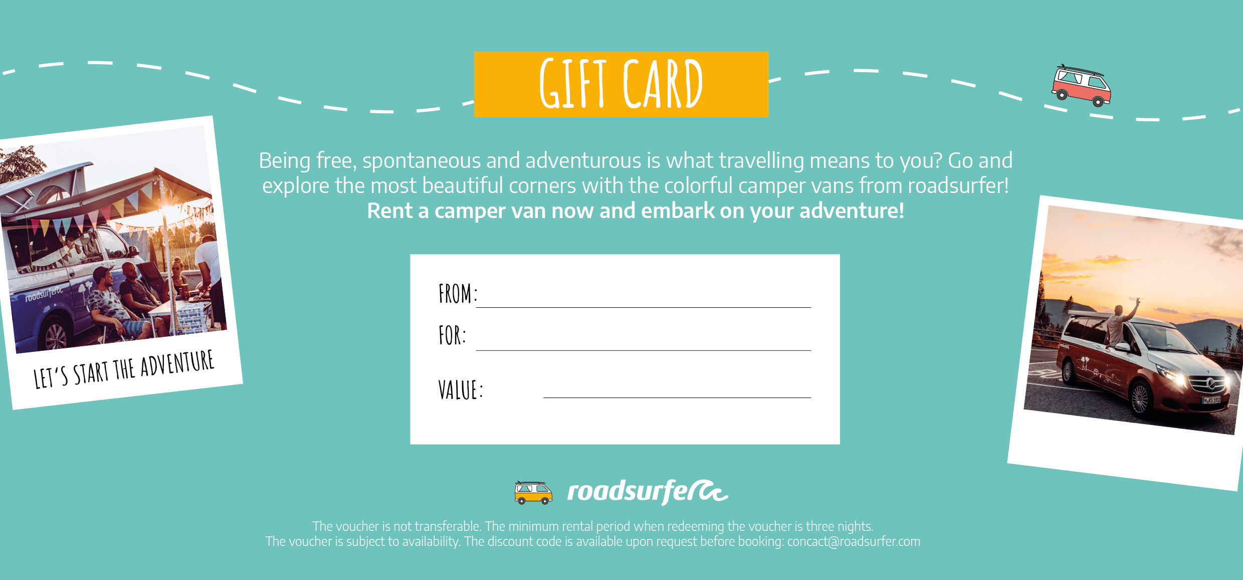 roadsurfer gift card back