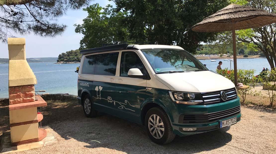 roadtrip through croatia campervan