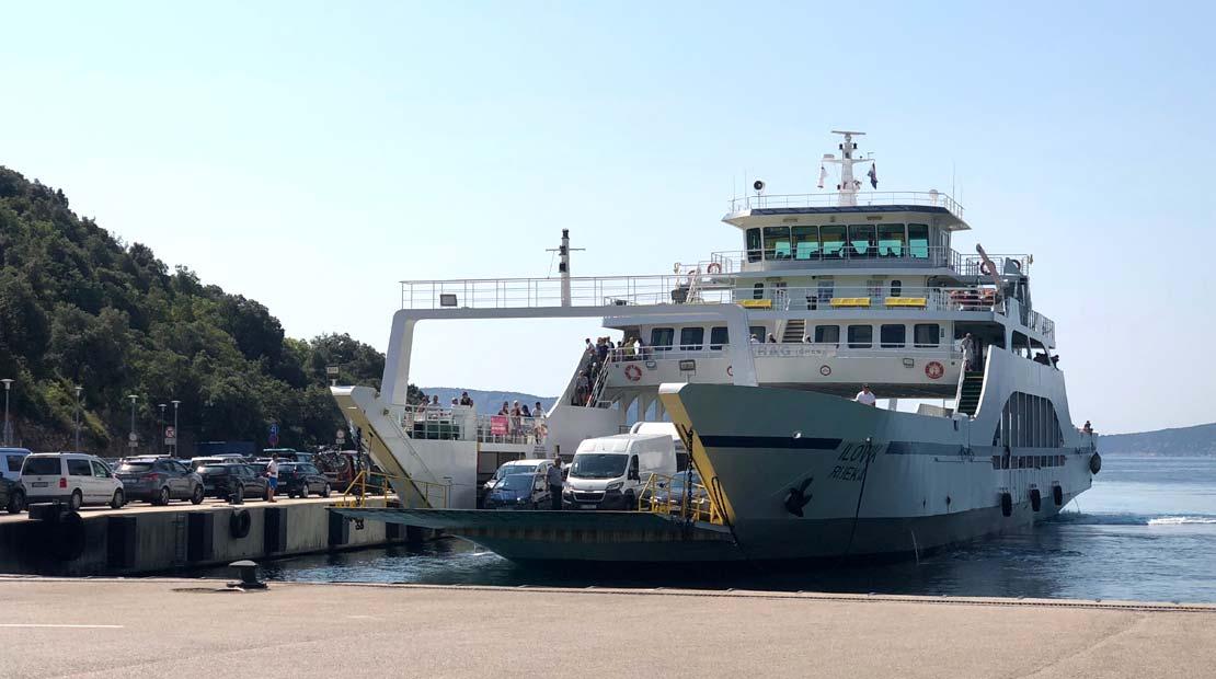 Roadtrip Fähre ferry